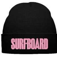 BEYONCE SURF BOARD THE BEAT BEANIE HAT - TeeeShop