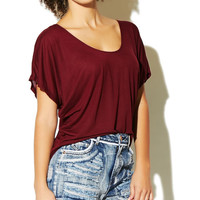 Soft Basic Dolman Top | Wet Seal