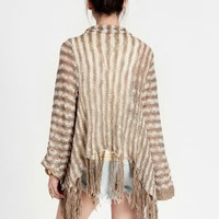 Once More Striped Cardigan | Threadsence