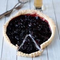 Chocolate Cherry Sherry Tart