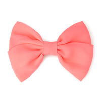 Iconic Bow Barrette