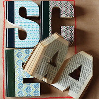 Library Letter by Anthropologie Assorted