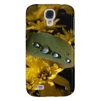 Chrysanthemum And Drops Samsung Galaxy S4 Case