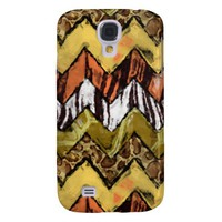 Chevron Safari Samsung Galaxy S4 Case