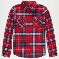SHOUTHOUSE Cedar Mill Boys Flannel Shirt