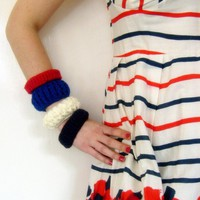 Nautical Betty bangles by DirtyLush on Etsy