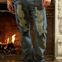 Rock & Stone® Ripped Stitching Jean