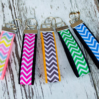 Chevron Key Fob Keychain Made to Order