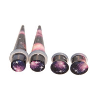 Morbid Metals Dark Galaxy Plug And Taper 4 Pack