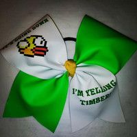 Flappy bird timber CHEER bow