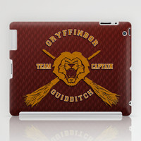 Harry potter Gryffindor quidditch team apple iPad 2, 3 and iPad mini Case