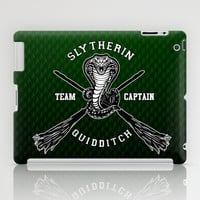 Harry potter Slytherin quidditch team apple iPad 2, 3 and iPad mini Case