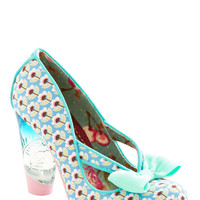 Irregular Choice Unique in New York Heel in Blue | Mod Retro Vintage Heels | ModCloth.com