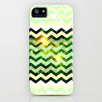 Space Chevron - for Iphone iPhone & iPod Case by Simone Morana Cyla