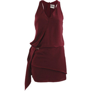 Burgundy Darling Mini Dress, Acne, size: 14 - Polyvore