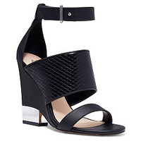 Covered Ankle-strap Wedge - Victoria's Secret