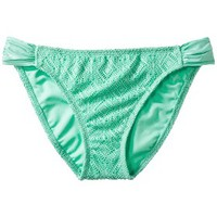 Mossimo® Women's Mix and Match Crochet Hipster Swim Bottom -Isle Green