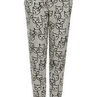 ALL OVER CAT JOGGERS