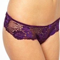 New Look 2 Tone Lace Thong