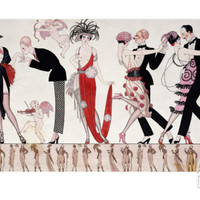 The Tango Print by Georges Barbier at Art.com