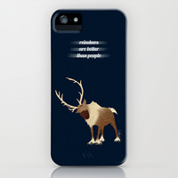 Sven // Frozen iPhone & iPod Case by Lukas Emory