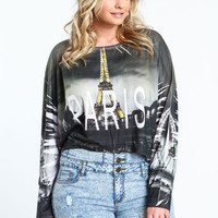 Plus Size Paris Dolman Tee - LoveCulture