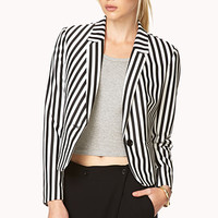 Bold Striped Blazer