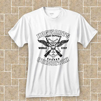 Quidditch Hogwarts Athletics Harry Potter Parody t shirt