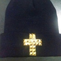 |Crossed Up| Beanie (front only design)
