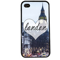 London iPhone Case / Big Ben iPhone 4 Case City iPhone 5 Case iPhone 4S Case iPhone 5S Case England Europe Travel Quote Phone Case