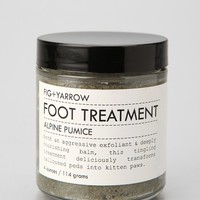 Fig + Yarrow Alpine Pumice Foot Scrub - Urban Outfitters