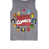 Marvel Comics Muscle Tee (Kids)