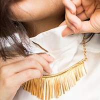 sirenlondon — Gold Bars Necklace