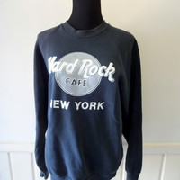 Vintage Hard Rock Cafe New York Sweatshirt 1980s