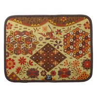 Vintage Patchwork Floral - In Autumn Colors