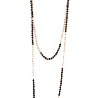Papaya Clothing Online :: FAUX PEARLS AND BEADS NECKLACE