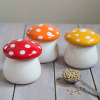 Amanita Second Helping Jar Set | Mod Retro Vintage Decor Accessories | ModCloth.com