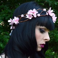 Aphrodite Braided Vine Flower Crown