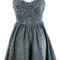 Denim Skater Dress