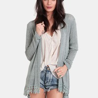 Picking Sides Knit Cardigan