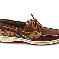 Plaid Bluefish 2-Eye Boat Shoe