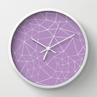 Segment Zoom Orchid Wall Clock by Project M
