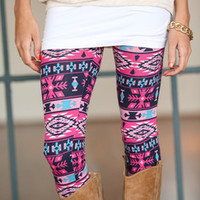 Pink and Lively Leggings