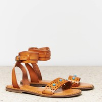 AEO Women's Studded Ankle Cuff Sandal