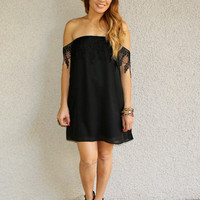 Off Shoulder 'Daydreamer' Dress