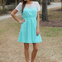 Top Of The Line Dress, Mint