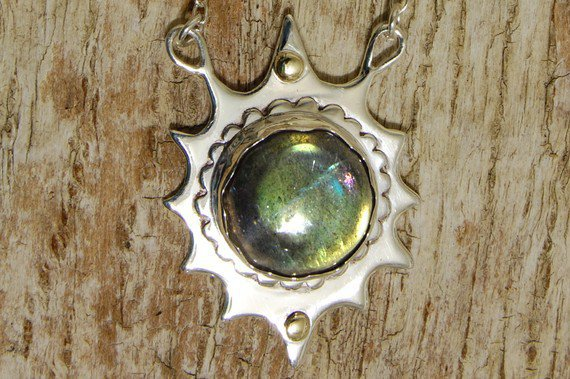 The Labrdorite Star by heartisticsilver on Etsy