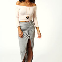 Michelle Viscose Maxi Skirt