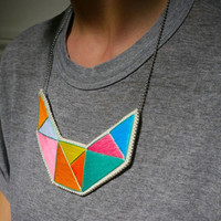 AnAstridEndeavor Geometric Bib Necklace | Accessories, Shoes, and Bags Under $100 | Everywhere