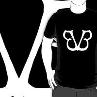 65 black veil brides custom black logo t-shirt tshirt